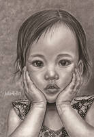 Little Indonesian girl by Julia-R-Ch
