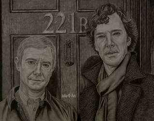 Sherlock and Watson by Julia-R-Ch