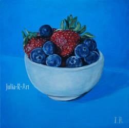 Cup of berries