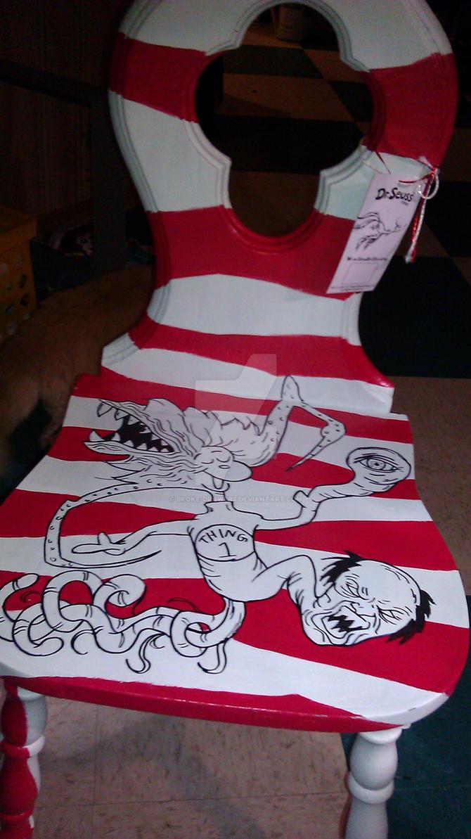 Dr. Seuss Vs John Carpenteru0027s The Thing Chair By Broke Drawers ...