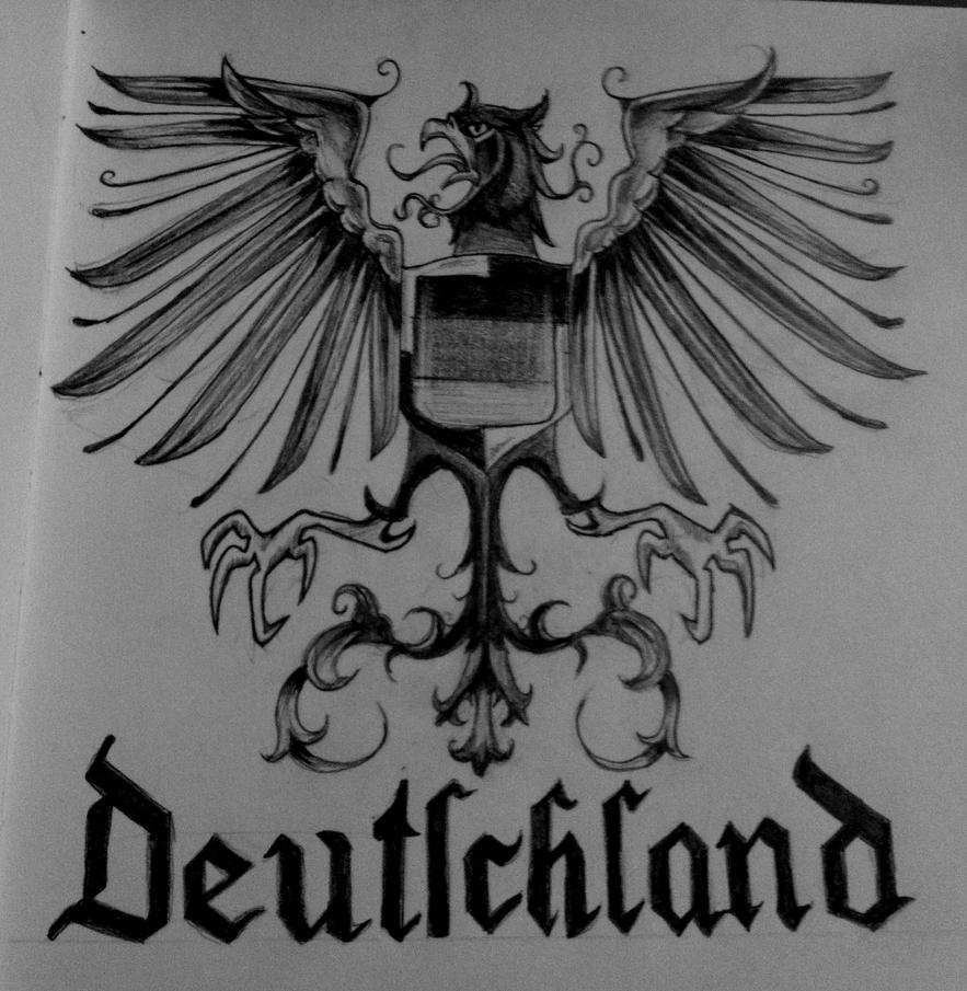 German imperial eagle tattoo - photo#27