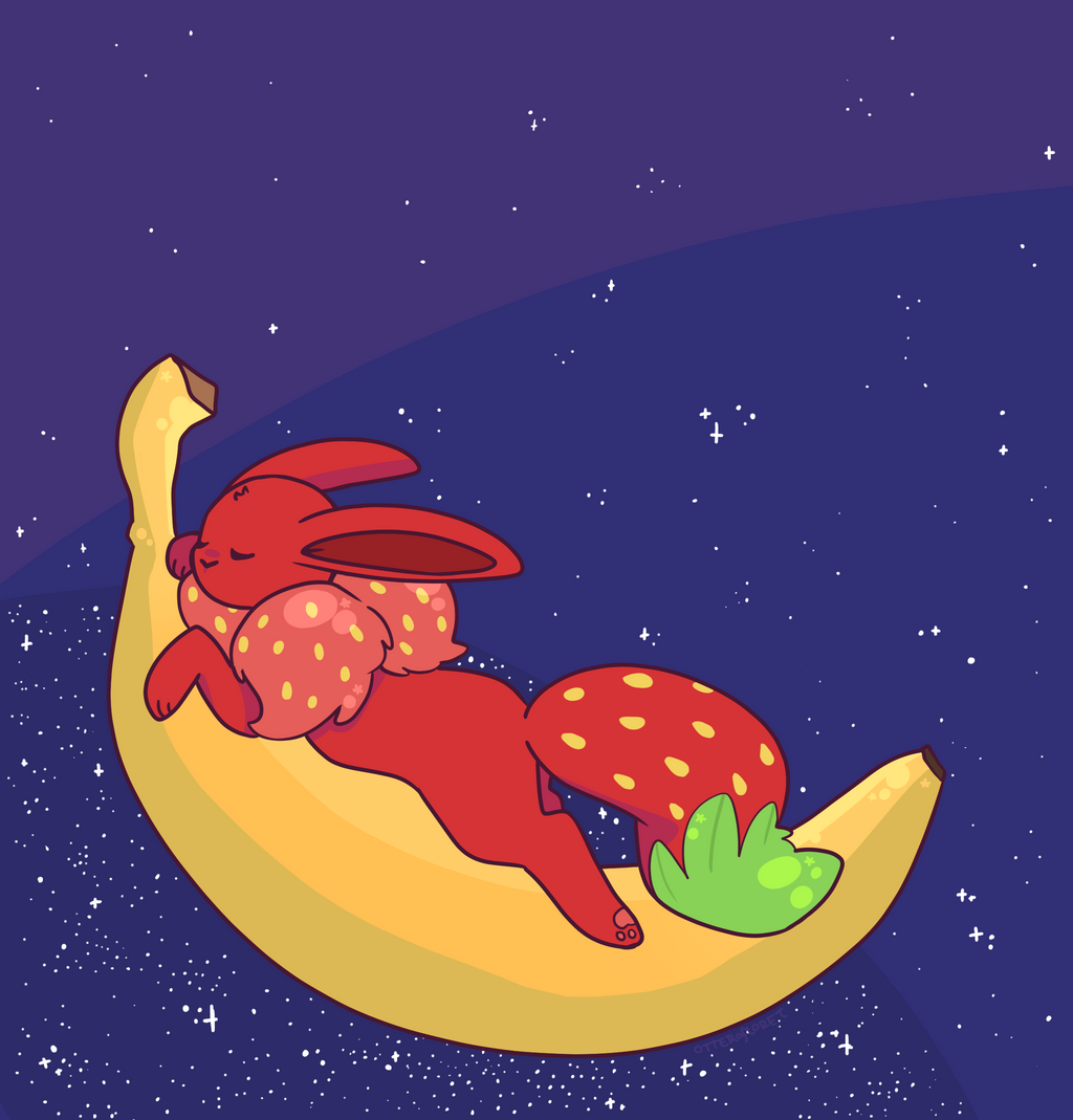Strandtassen Banana Moon : Banana moon by otterlore on deviantart