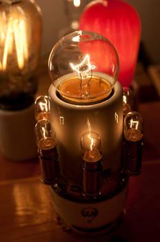 Lighted Light Bulb Socket