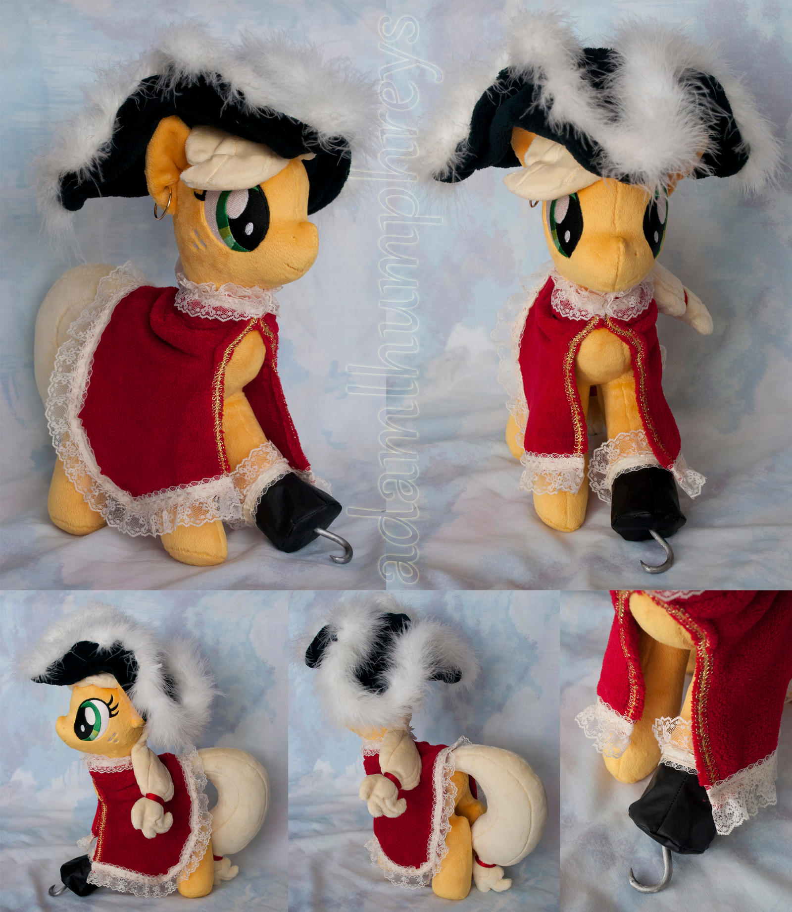 MLP Plushie Contest: Captain Jack Hook by adamlhumphreys