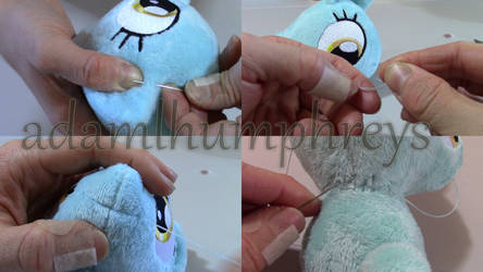 Pony Sewing Tutorial 5: Hand Sewing