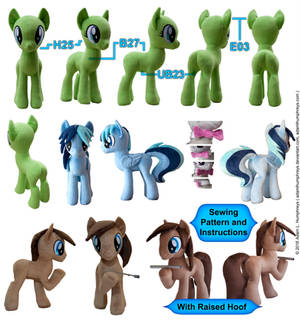 Pony Mare Stallion Plushie Sewing Pattern 27