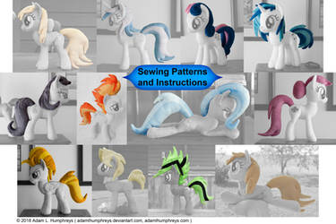 Pony Mane and Tail Patterns 11 Pack!