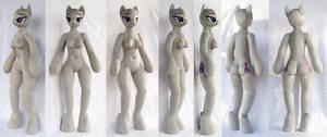 3' Anthro Octavia Plush - Head 34, Body 23, Arm 06