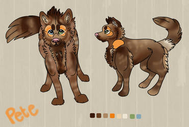 Pete the Prairie Wolf Character Sheet by TheFallenWhisper