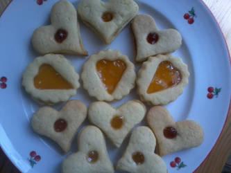Valentin napi linzer by Michiyooo