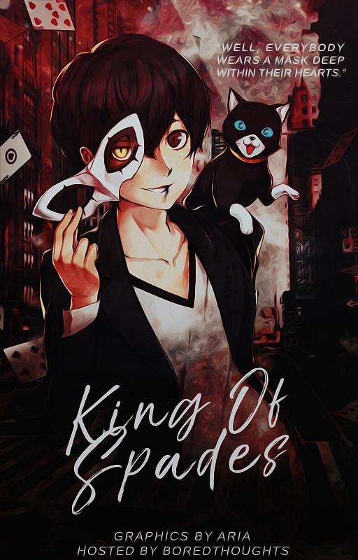 Anime Book Cover Wattpad : Wattpad cover king of spades c by dustyaria on deviantart