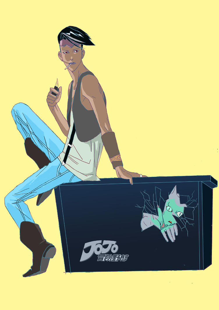 Rohan and Killer Queen in box by poyozodoll