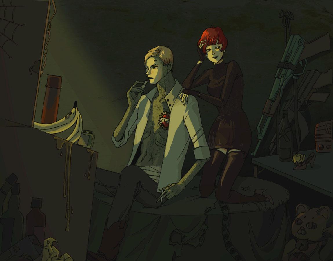 Zombie by poyozodoll