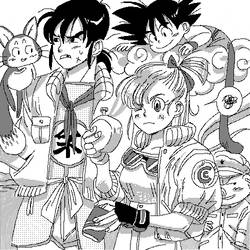 Dragon Ball First Team