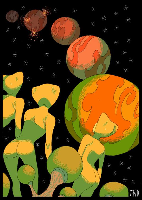 Galaxy of Probems by poyozodoll