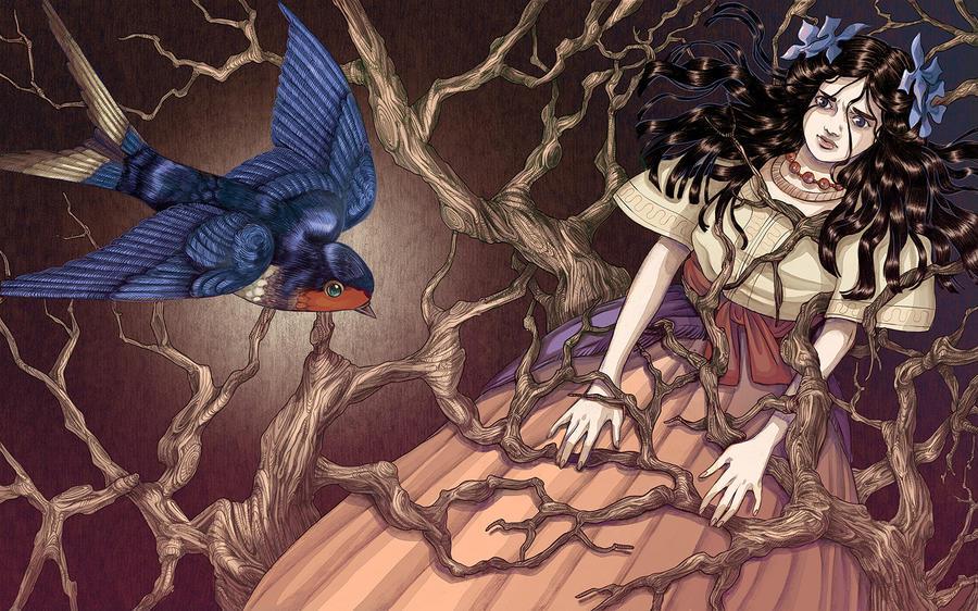 Fairy tale illustration 2 by poyozodoll
