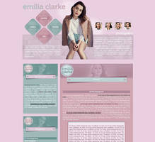 Ordered design with Emilia Clarke by Nikrecia