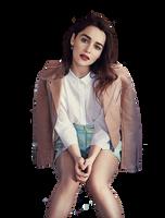 Emilia Clarke PNG by Nikrecia