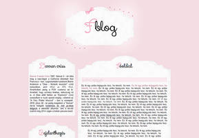Ordered blog design by Nikrecia