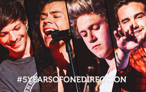 One Direction wallpaper by Nikrecia