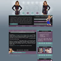 Taylor Swift Layout by Nikrecia