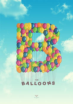 B for Balloons