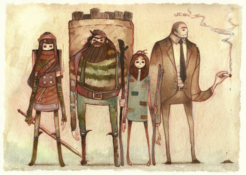sworcery characters