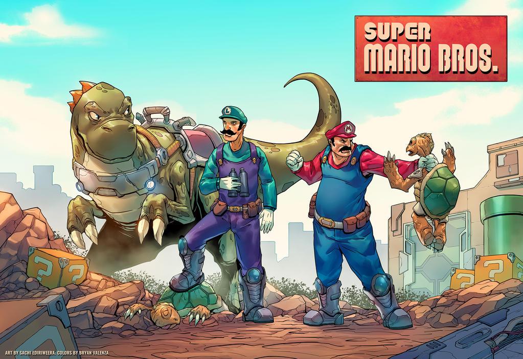 Super Mario Bros. by route345