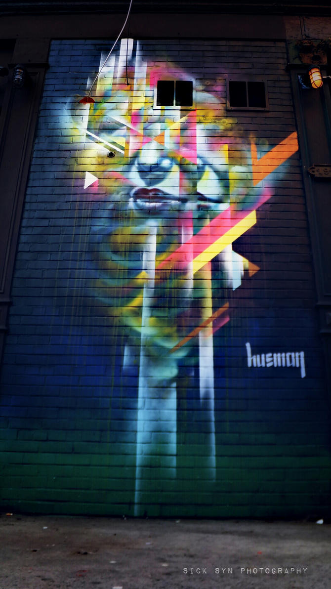 ART IN NYC   LES MANHATTAN by SynfulSick