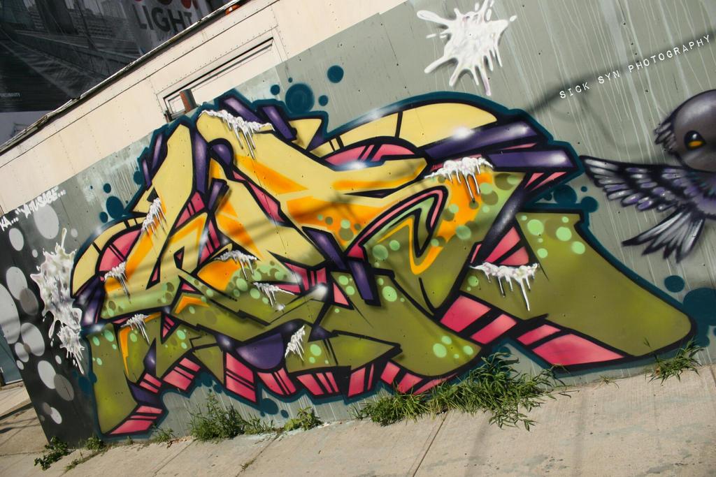 GRAFFITI NYC by SynfulSick