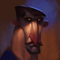 Grumpy by Artsammich