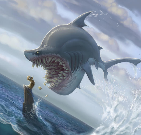 Shark by Artsammich