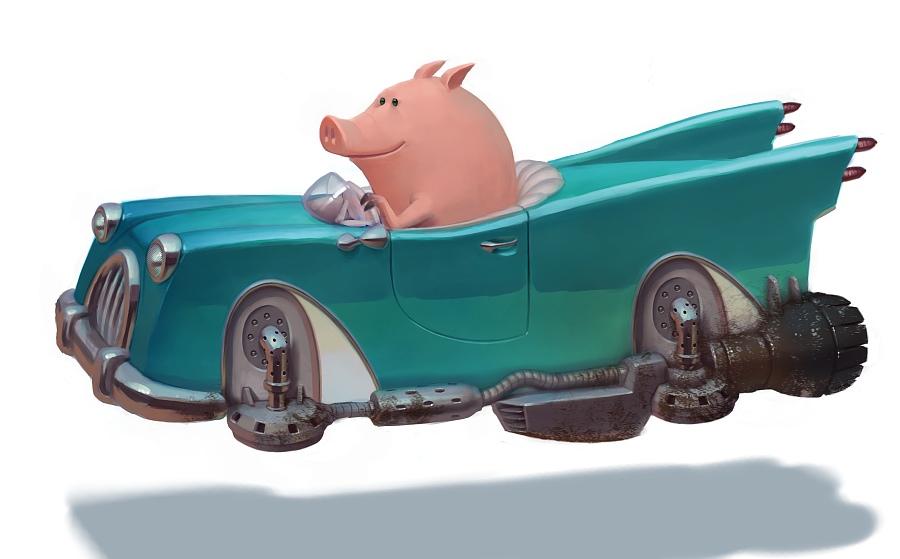 Future Pig by Artsammich