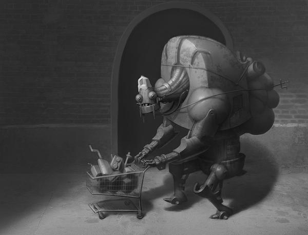 RoboHobo by Artsammich