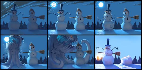 Snow Monster by Artsammich