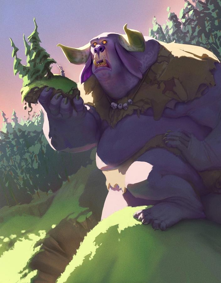 Troll-ish by Artsammich