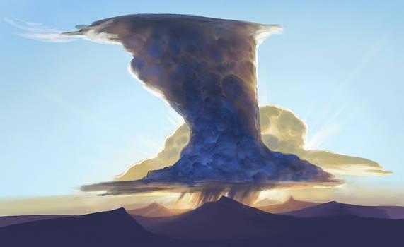Cloud sketch by Artsammich