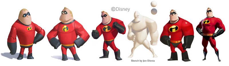 Disney Infinity: Mr Incredible Evolution