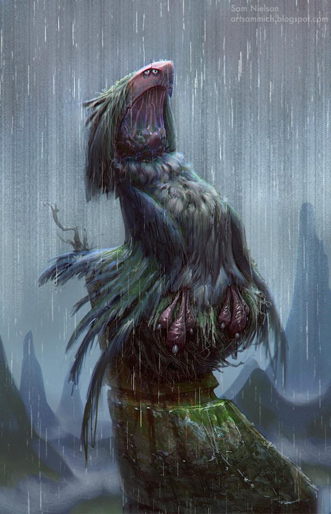 Boo Bird by Artsammich