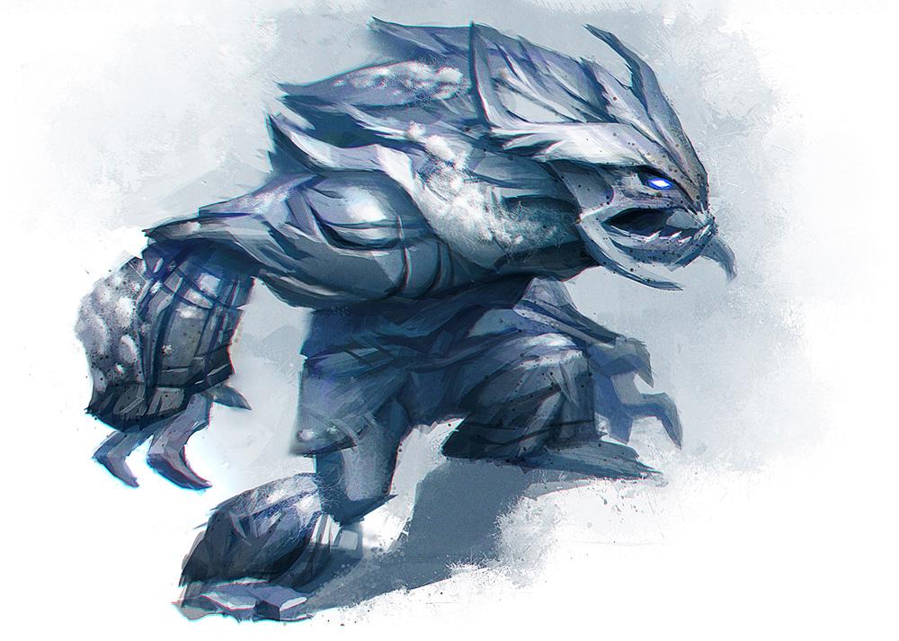 Disney Infinity Frost Giant by Artsammich