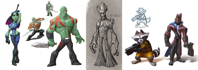 Disney Infinity Guardians of the Galaxy