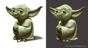 Yoda concepts for Disney Infinity 3.0