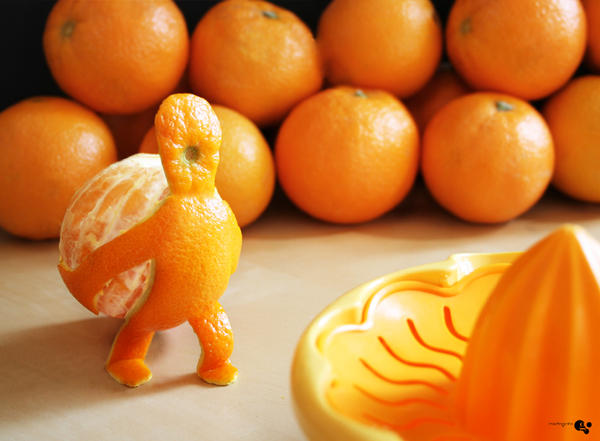 orangeman by grohsARTig