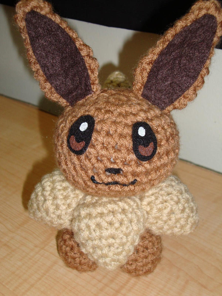 Amigurumi Crochet Pattern Etsy : Eevee by Lass-Samantha on DeviantArt