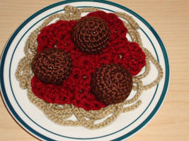 Spaghetti and Meatballs by Lass-Samantha
