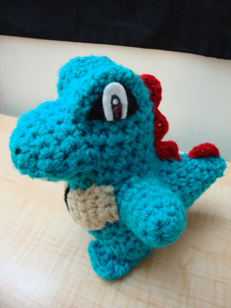 Totodile by Lass-Samantha