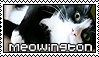 Meowington Stamp by AdaDirenni