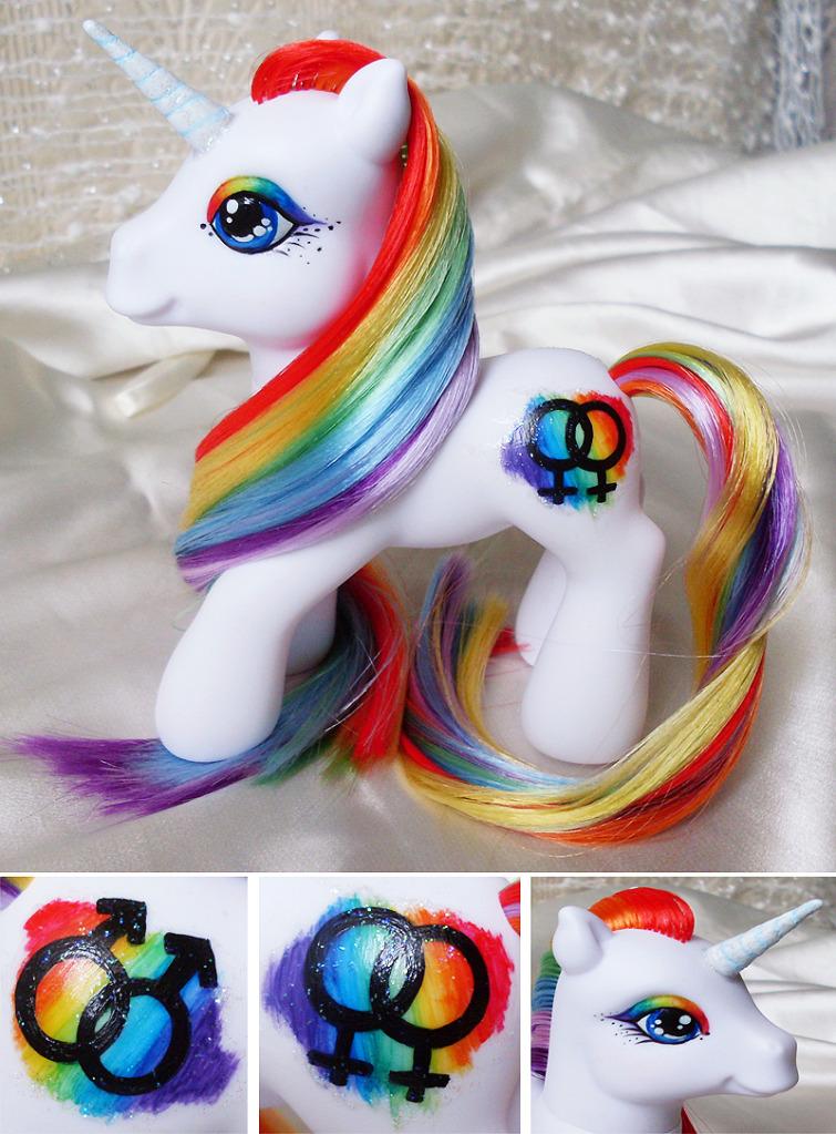 Pride Pony by MLPMeadows
