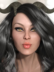 Tishaka Sexy Portrait by Shimeri