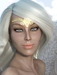Angel Sexy Portrait by Shimeri